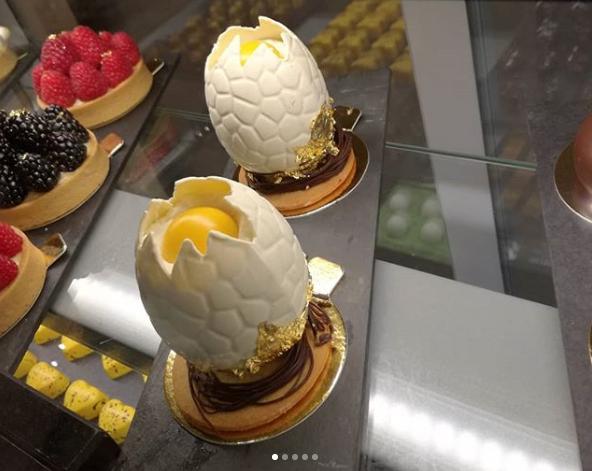 ovos da pascoa em pastelaria